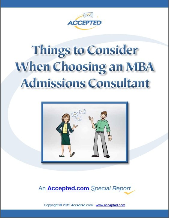Choosing an Admissions Consultant