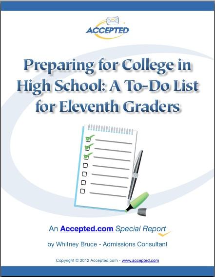 Preparing for College in High School