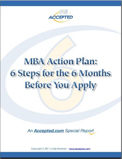 MBA Action Plan