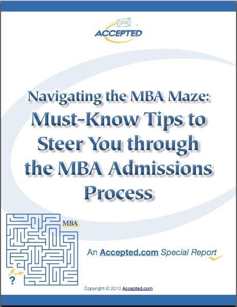 Navigating the MBA Maze