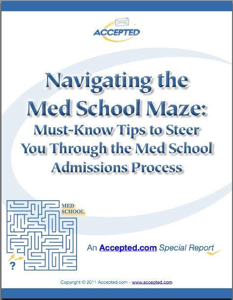 Navigating The Med School Maze