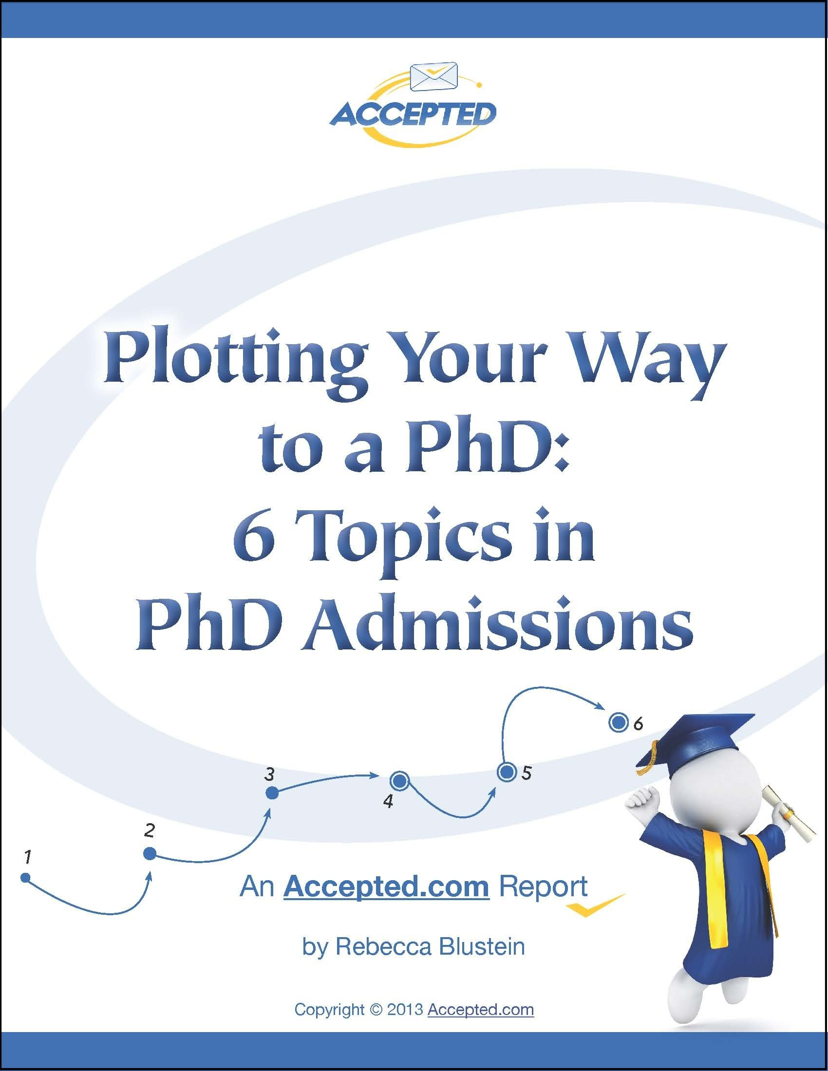 Plotting Your Way to a PhD
