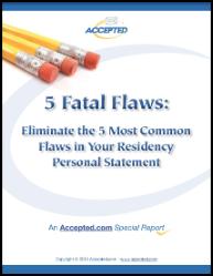 5 Residency Flaws to Avoid