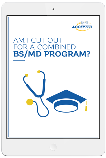 BS/MD Programs admissions guide