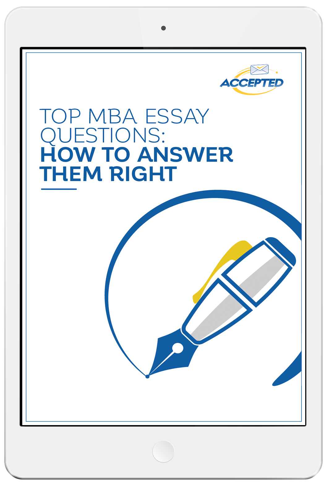 mba essay questions and answers