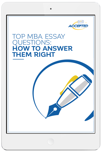 Mba essay questions