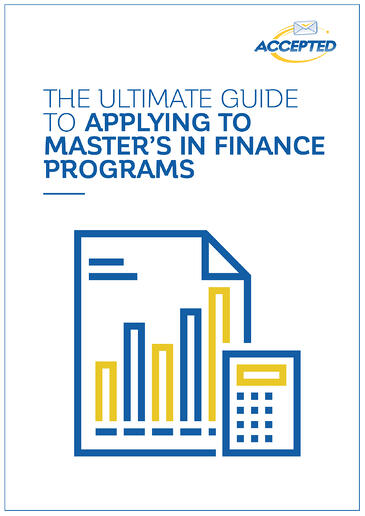 Masters in Finance Guide Cover