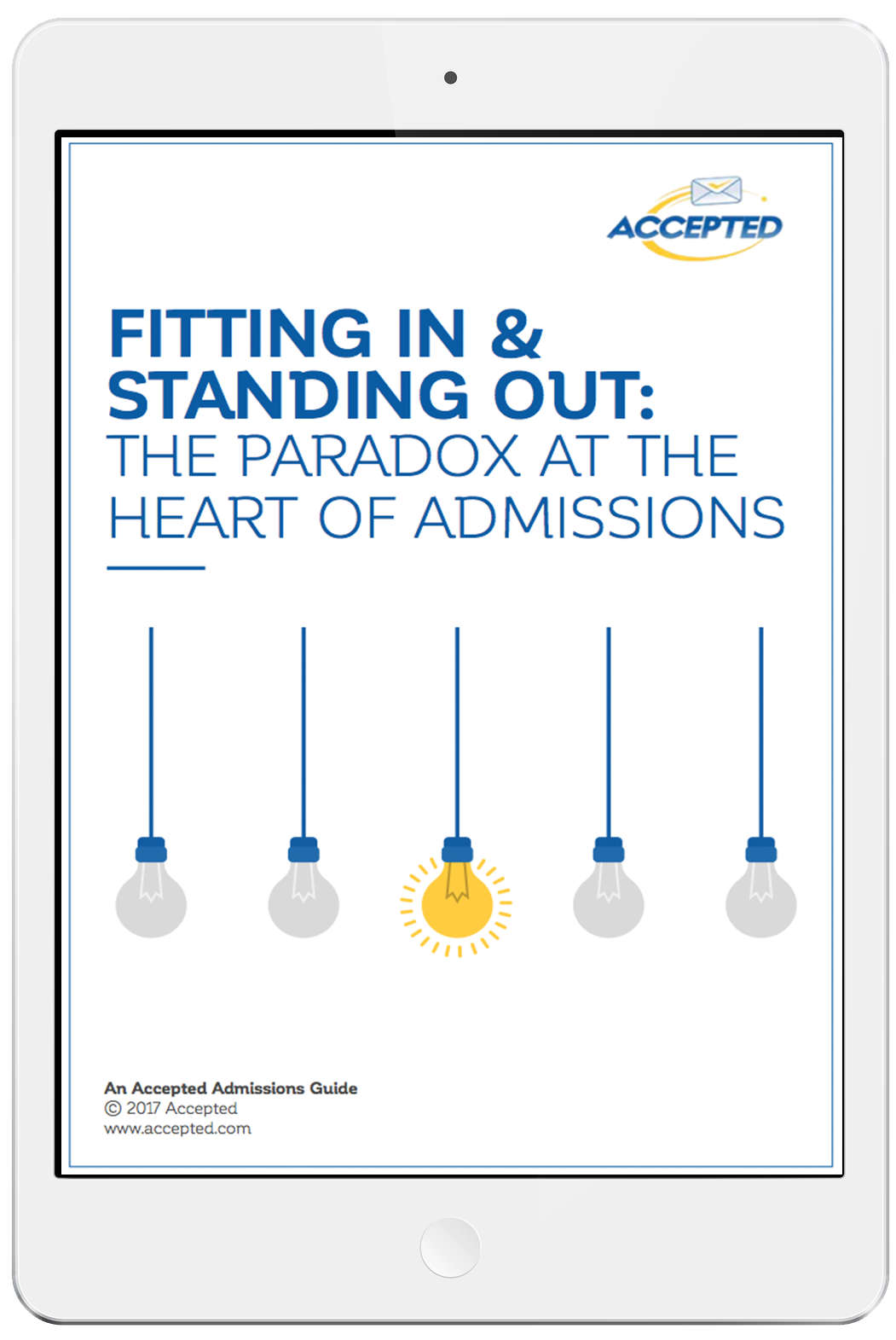 Download our guide to fitting in and standing out!